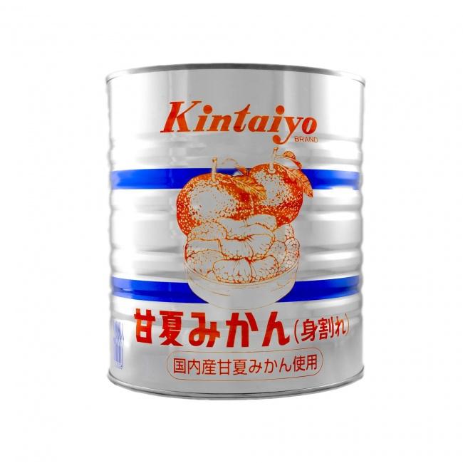甘夏みかん(国内産) 1号缶 身割れ